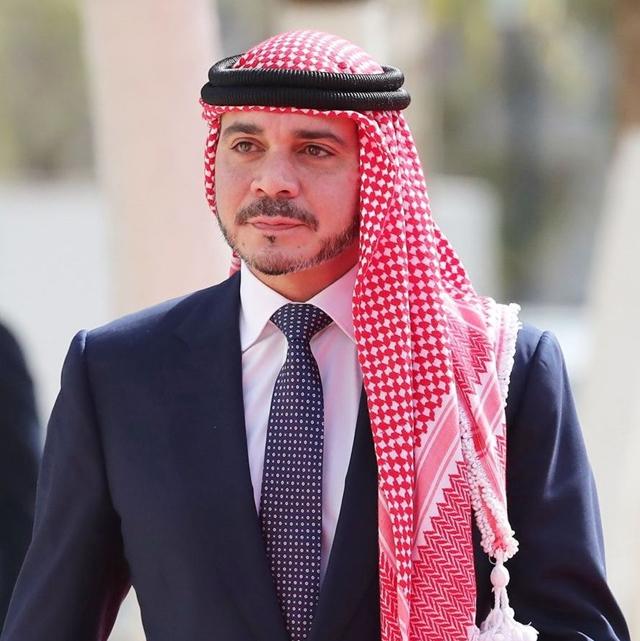 الأمير علي بن الحسين ينعى وفاة احمد راضي