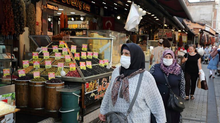 تركيا تسجل خلال يوم أكثر من 1700 إصابة جديدة بكورونا و68 وفاة