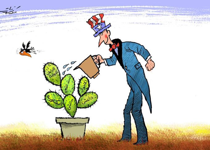 أمريكا تغذي الصراعات في الشرق الاوسط