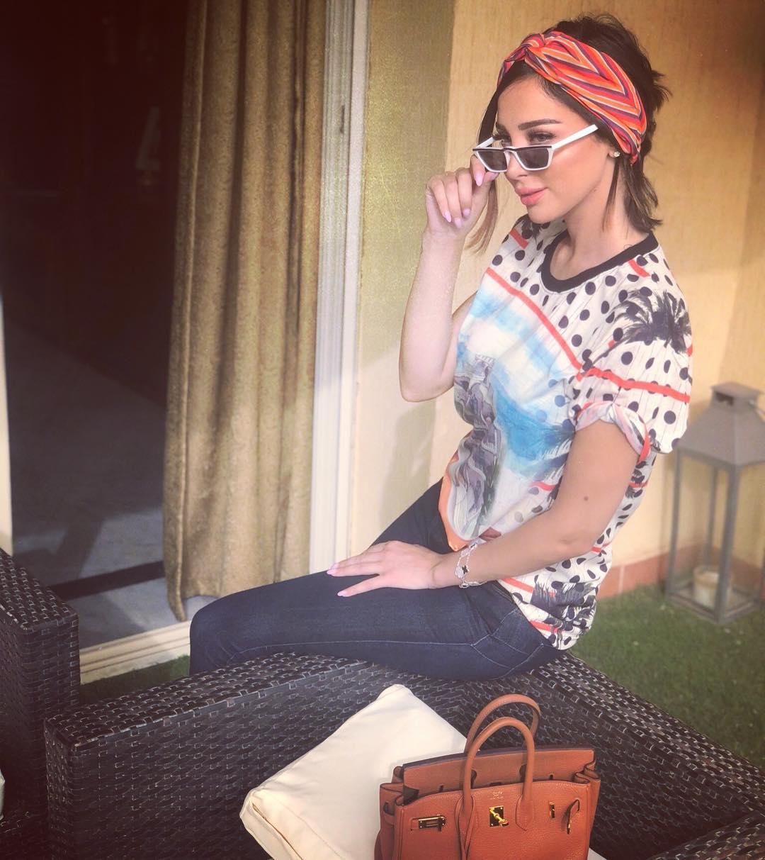 بسمة بوسيل تكشف حقيقة حملها بطفلها الثالث من تامر حسني !!!؟؟؟