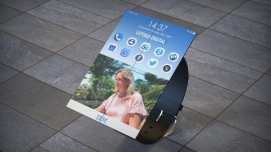 شركة أمريكية تنوي إنتاج ساعة ذكية تتحول إلى حاسب لوحي