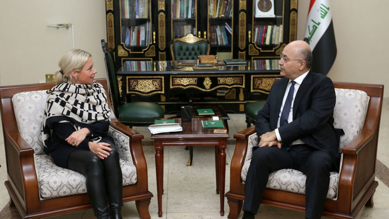 The President of the Republic and Blaskhart discuss the implementation of legal legislation to hold fair elections in accordance with the constitution Image