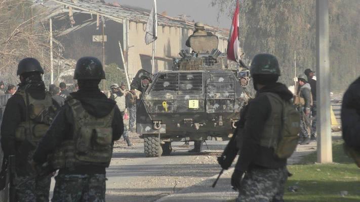 الاتحادية تحرر حي الطيران في ايمن الموصل