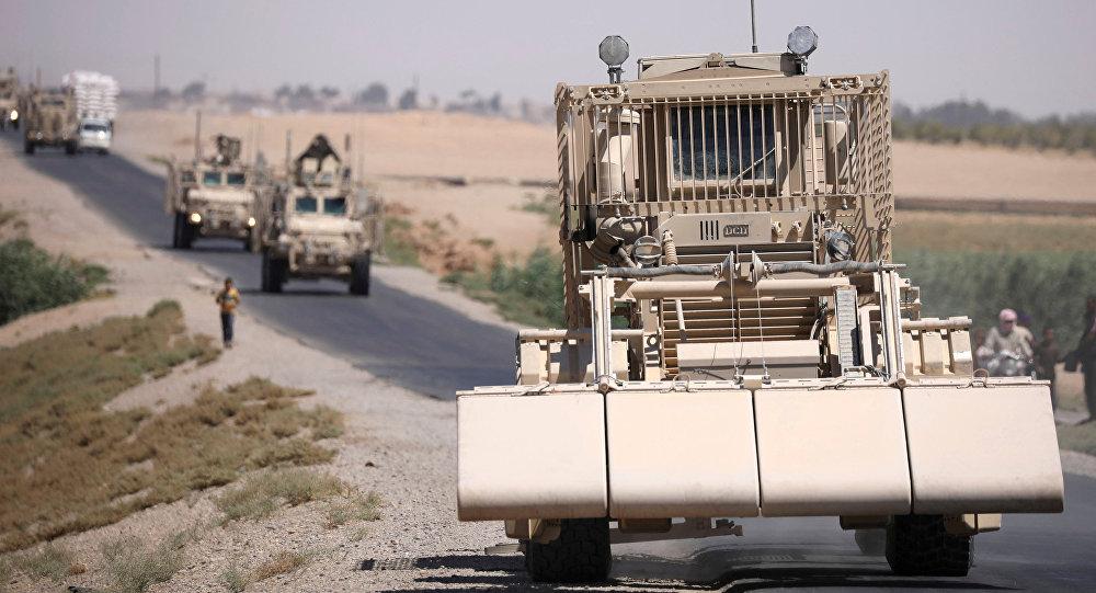 قوات أمريكية تدمر قاعدة القليب في منطقة تل بيدر السورية