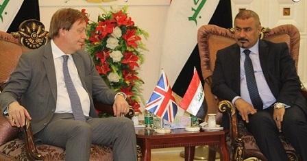 بريطانيا تؤكد دعمها للبصرة عبر منح القروض لبعض المشاريع التي ستنفذ في المحافظة