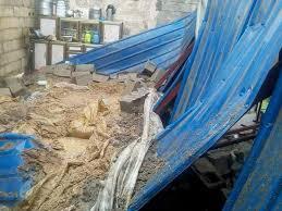 وفاة امرأة وابنها وإصابات أخرى بحادث سقوط سقف المنزل بسبب الأمطار في الرفاعي