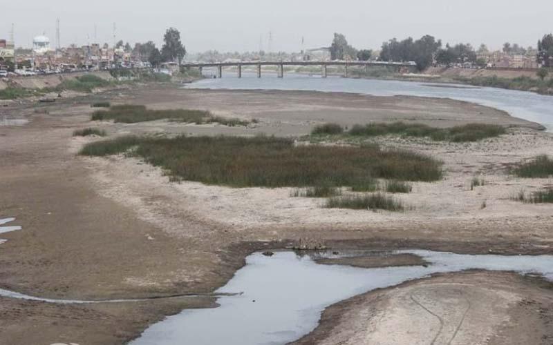 انخفاض كبير بنسبة المياه القادمة من ايران ..  ومراقبون: ايران تتعمد قتل الزراعة في العراق