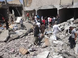 التحالف يقصف الرقة و إلقاء منشورات تدعو السوريين للخروج منها