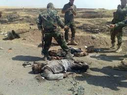 القوات الأمنية تقتل 9 دواعش في احباط تعرض لهم غربي قضاء الطوز