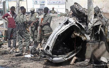 هجوم انتحاري يستهدف مسؤولين قطريين في الصومال