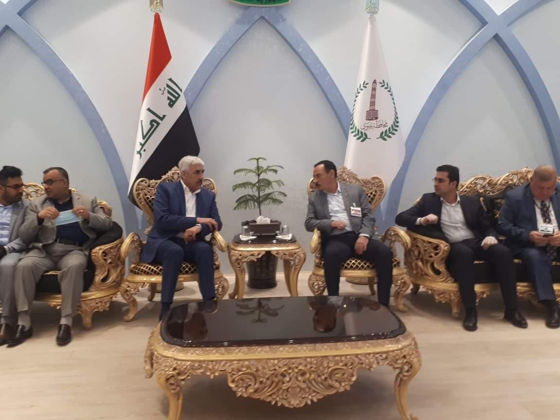 وعد فأوفى ..  وزير الشباب يشرف على إطلاق العمل بالمدينة الرياضية في نينوى