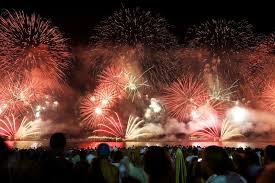 اقامة أول وأكبر مهرجان لعروض الالعاب النارية في العراق بعيد الفطر
