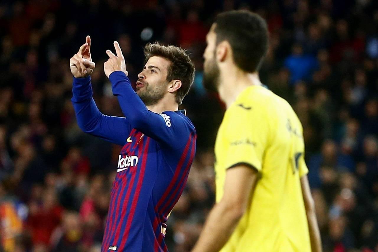 برشلونة في الصدارة مجددا بعد فوز على فياريال وتعادل اشبيلية والافيس