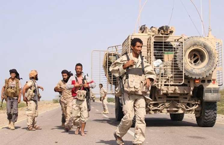 """الجيش اليمني يعلن """"المتون"""" منطقة """"معادية"""" ويطالب بإخلاءها من المدنيين"""