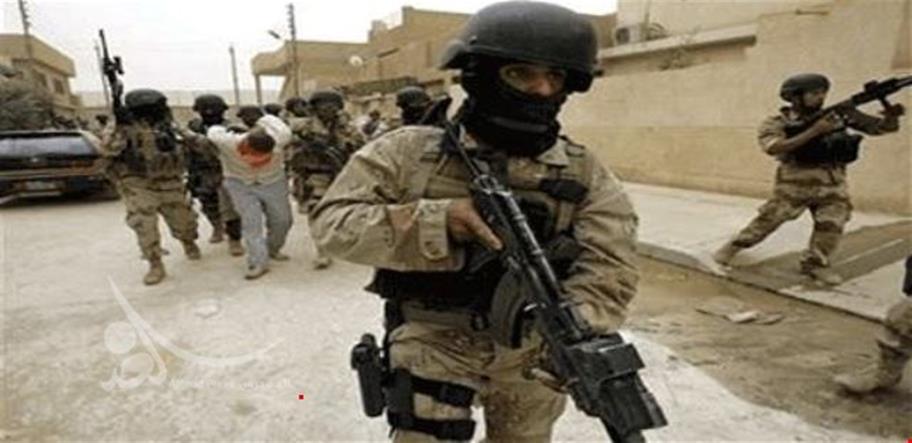 القوات الأمنية تقبض على ثلاثة إرهابيين بحوزتهم صواريخ شمالي صلاح الدين