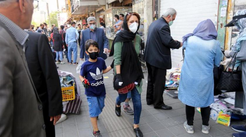 2456اصابة جديدة بكورونا في ايران