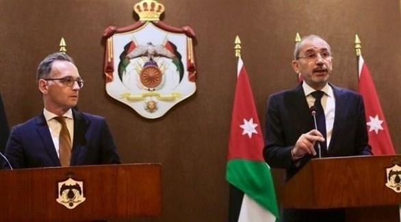 الأردن وألمانيا يؤيدان حل الدولتين لإنهاء النزاع الفلسطيني الاسرائيلي