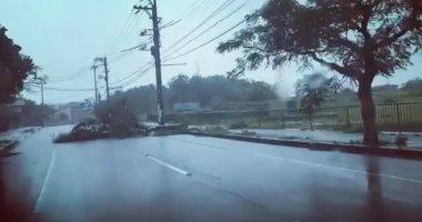 الإعصار (ترامى) يضرب جنوب غرب اليابان ويصيب 50 شخصا..والسلطات تجلى 26 ألفا