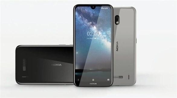 نوكيا 2.2  ..  هاتف ذكي جديد منخفض التكلفة