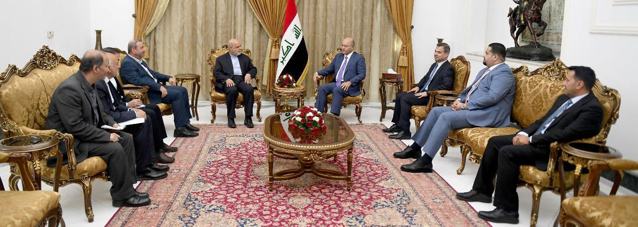 Saleh: Iraq stems from its national interests and is keen on stability in the region Image