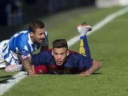 رسمياً ..  لاعب برشلونة السابق ينضم للدوري العراقي