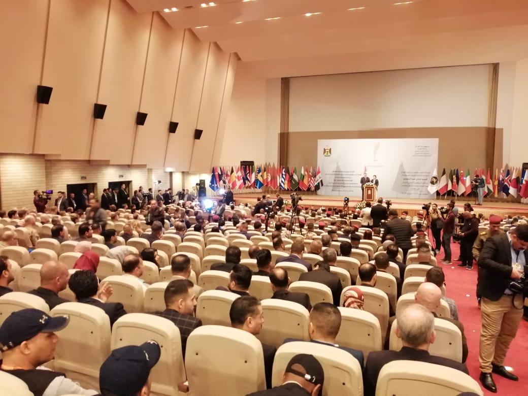 بالصور ..  انطلاق أعمال المؤتمر الدولي الرابع لمكافحة إعلام داعش