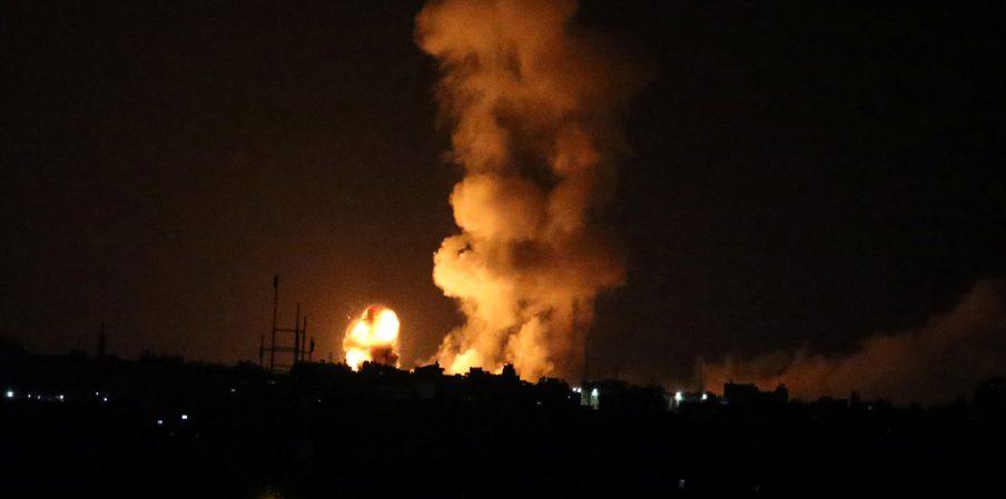 تعطيل المدارس والجامعات والمصارف بسبب القصف الإسرائيلي في غزة