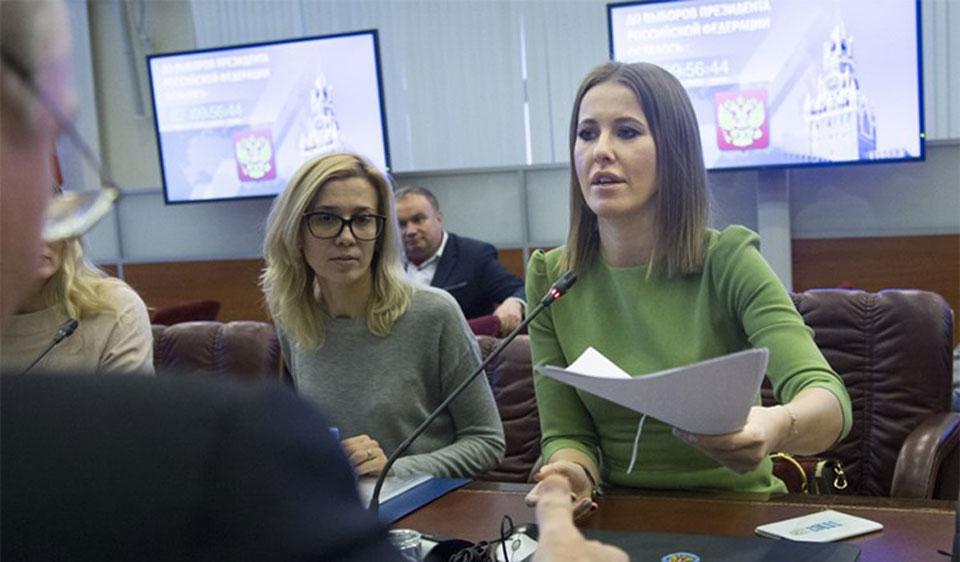 مذيعة تنافس بوتين في انتخابات الرئاسة الروسية