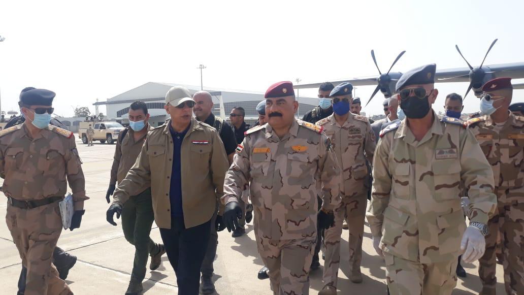 الكاظمي يشرف على عملية عسكرية لملاحقة داعش في كركوك