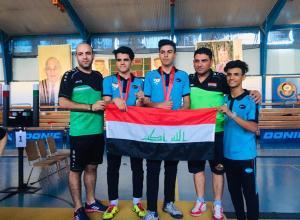 وزير الشباب يبارك انجازات المبارزة في بطولة آسيا