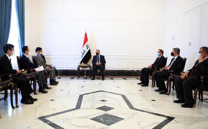 الكاظمي: المشروع الياباني في مصافي الجنوب سيسهم بتدعيم القطاع النفطي العراقي