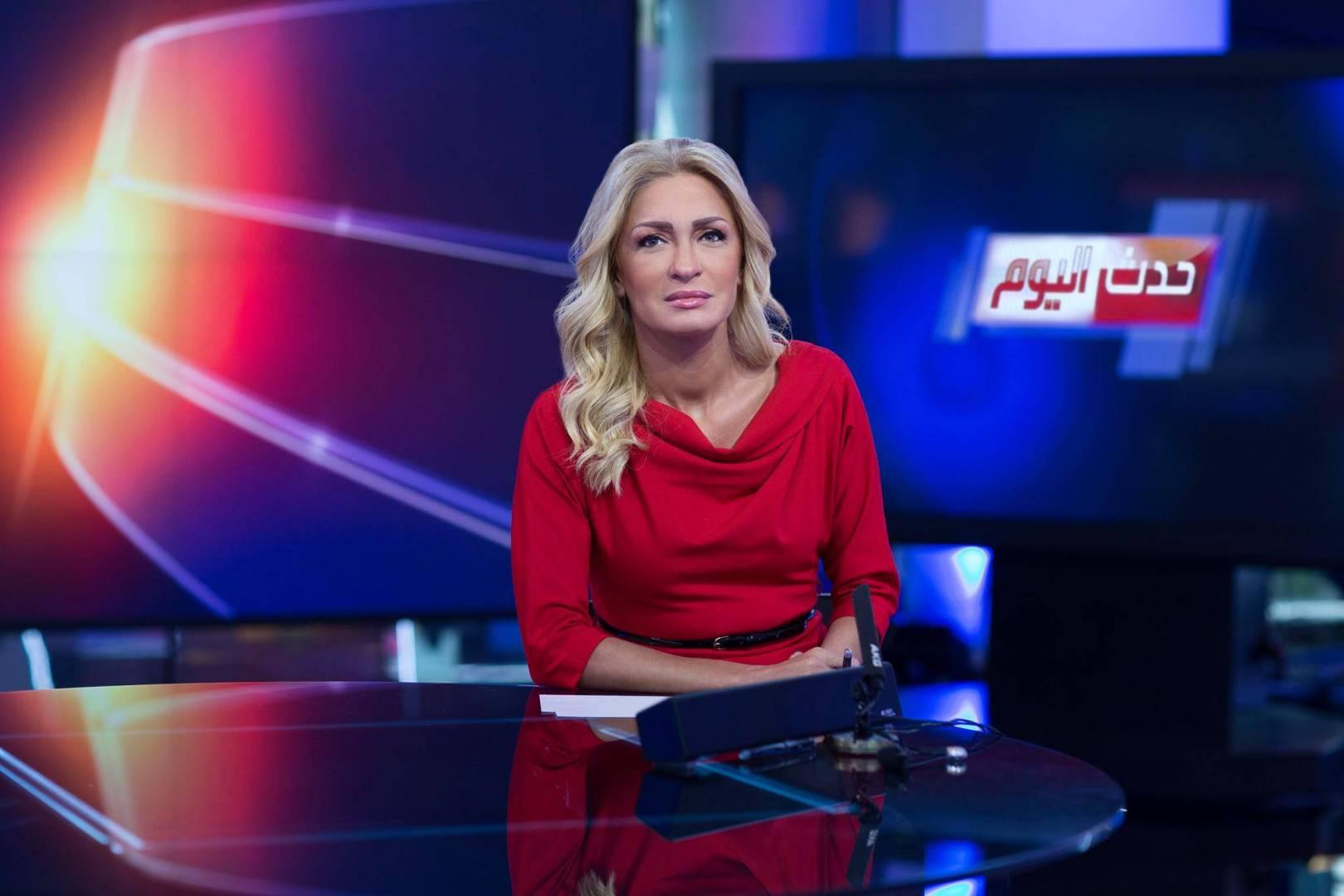 وفاة الإعلامية نجوى قاسم اثر نوبة قلبية