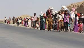 داعش تقدم على اعتقال الاطفال والنساء وتجبر الرجال على الانضمام لصفوفها