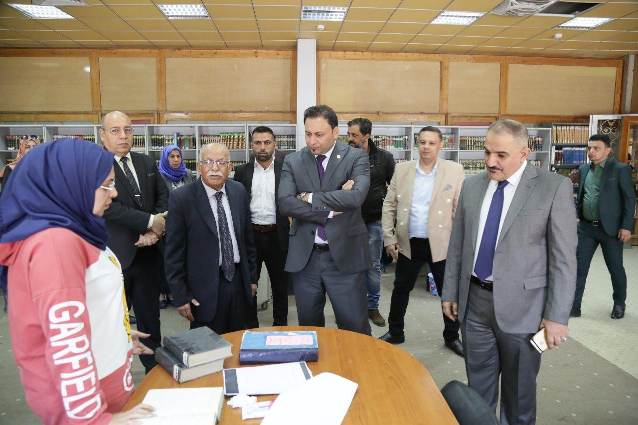 الكعبي يؤكد اهمية اعادة تفعيل المجمع العلمي العراقي ورفده بكافة مقومات النجاح
