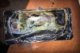 انفجار هاتف اخر نوعية جلاكسى s7 بعد  نوت 7