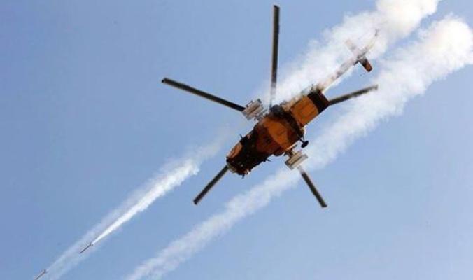 طيران الجيش يدمر مقرات ومخازن للأسلحة والعتاد تابعة لعناصر في الموصل