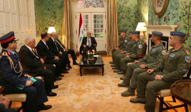 Abadi confirms Iraqi pilots in America that everyone is looking forward to end their training