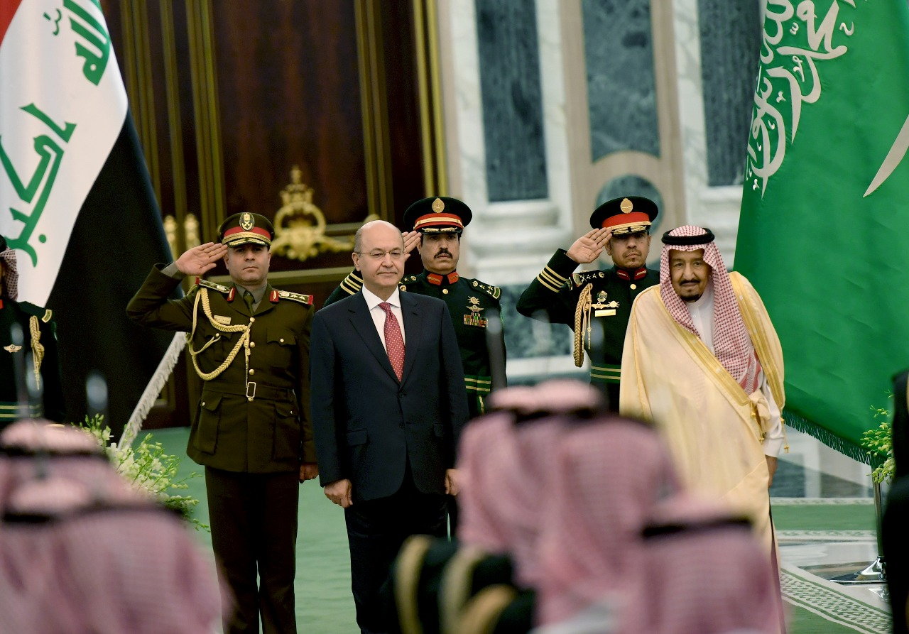 Riyadh promises to supply Baghdad with 600 megawatts of electricity Image