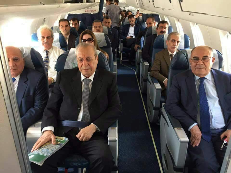 وفد استفتاء كوردستان يغادر أربيل متوجها الى بغداد