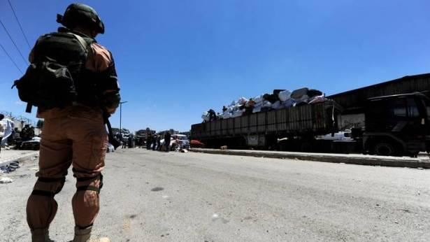 اتفاق جديد حول هدنة حمص