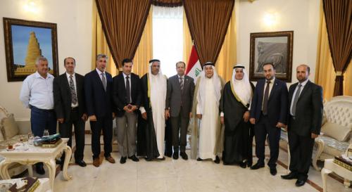الجبوري يؤكد على اهمية دور العشائر في مد جسور الاخوة بين شرائح المجتمع العراقي