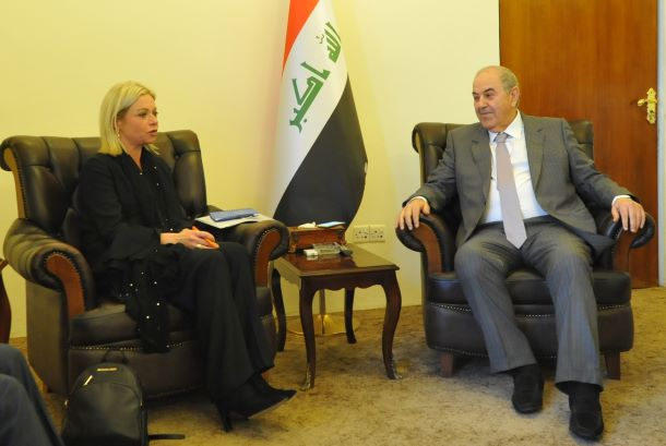 Allawi attacks Plashart - We demanded to replace her after the demonstrators let her down