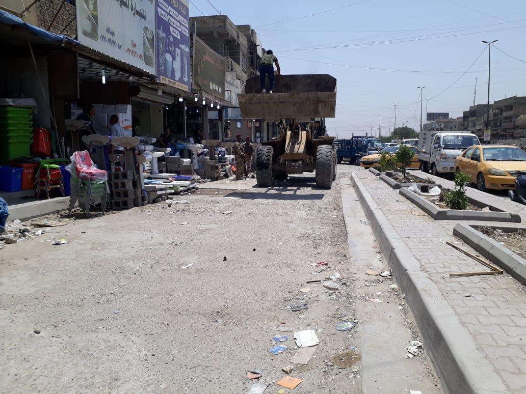 امانة بغداد تستنكر تعرض موظفيها الى الاعتداء شرقي العاصمة