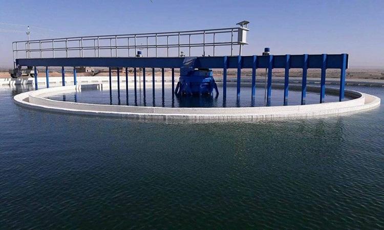 اعادة تشغيل مشروع ماء ناحية الحجاج في صلاح الدين