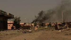 الانفجارات التي سمعت في احياء الفلوجة ناجمة عن معالجة عدد من العبوات الناسفة