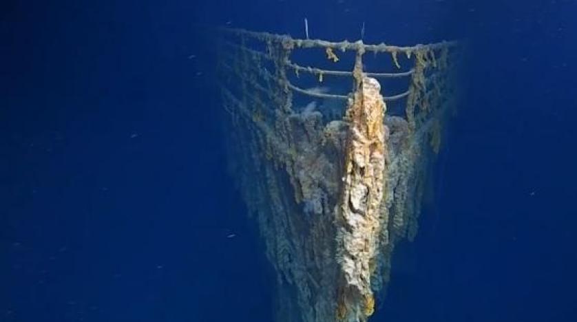 """أول بعثة تزور حطام """"تايتانيك"""" منذ 15 عاماً: السفينة تختفي تدريجيا"""