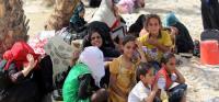 نازحو الأنبار في ديالى ينتظرون فتح الطرق المؤدية إلى إقليم كردستان