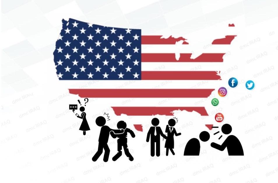 الاعلام الرقمي: اكثر من نصف الاميركيين تعرضوا للمضايقة على مواقع التواصل الاجتماعي