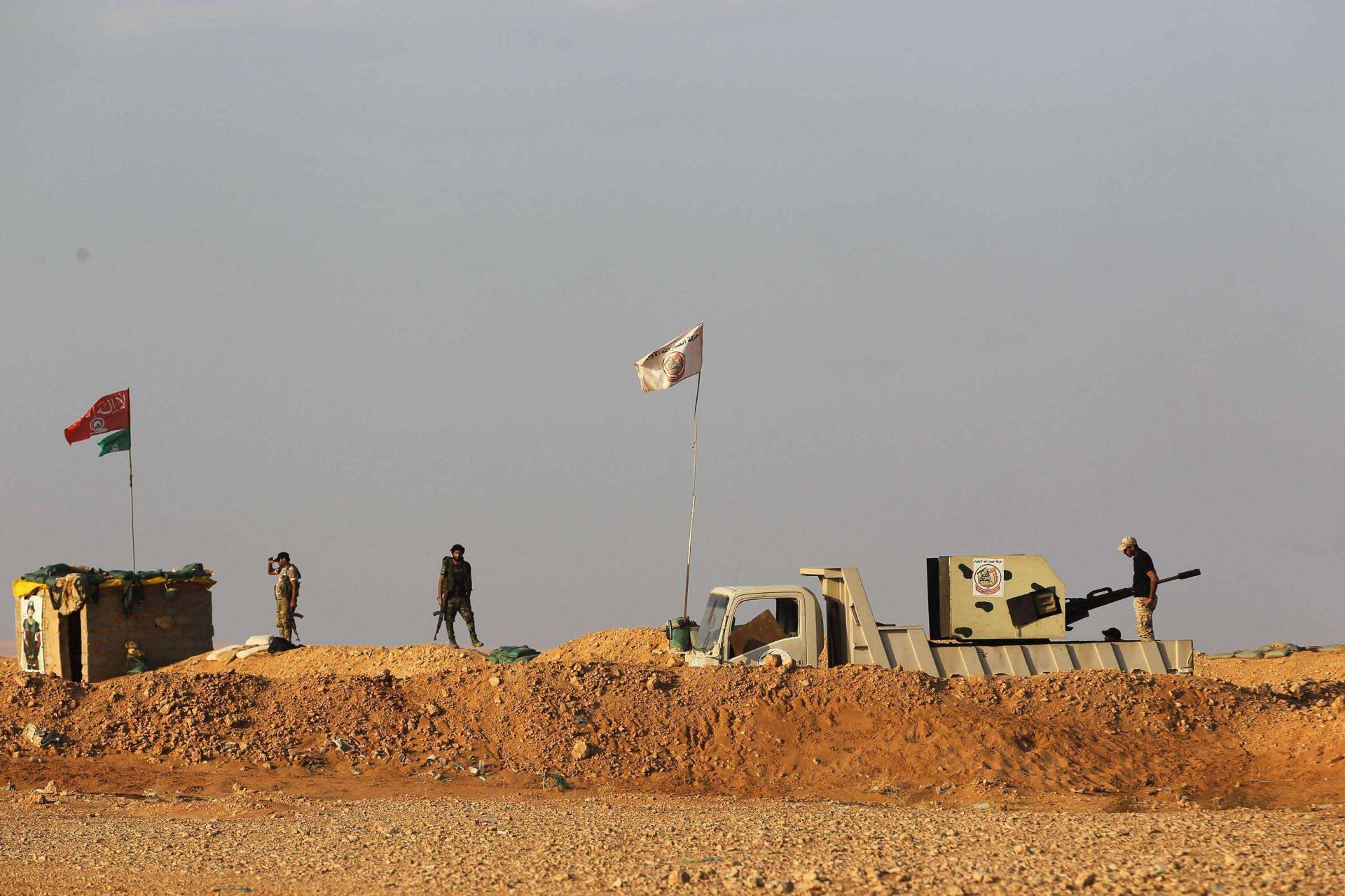 مقتل 5 عناصر من الفصائل الموالية لإيران على الحدود العراقية السورية