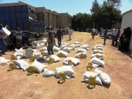 WFP التابعة للامم المتحدة توزع مساعدات غذائية على اكثر من 200 عائلة نازحة في الزبير (تفاصيل)